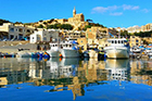 Mgarr harbour  » Click to zoom ->